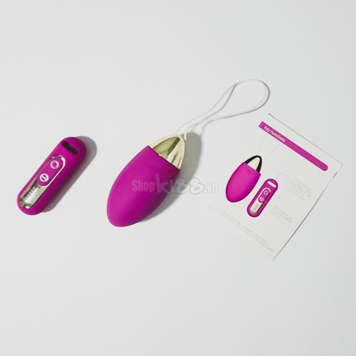 Trứng rung thông minh điều khiển từ xa EG33A dàng cho nữ khi thiếu thốn tình cảm