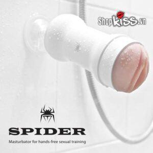Âm đạo giả Spider chính hãng loại màu trắng.