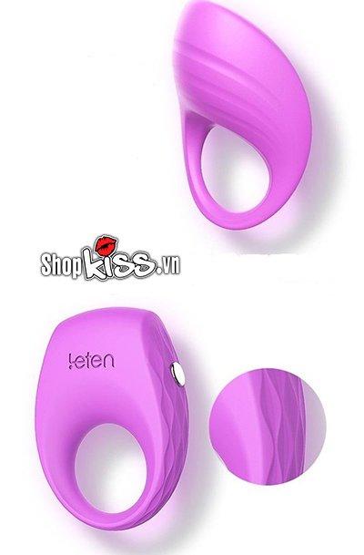 Vòng rung đeo dương vật cao cấp Ellen Leten DC71S chất liệu silicon