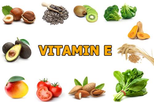 Các loại thực phẩm giàu vitamin E là thực phẩm giúp tăng tiết chất nhờn âm đạo