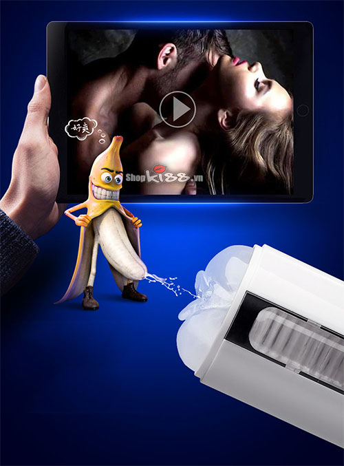 Thủ dâm bằng máy tự động chính hãng siêu phê