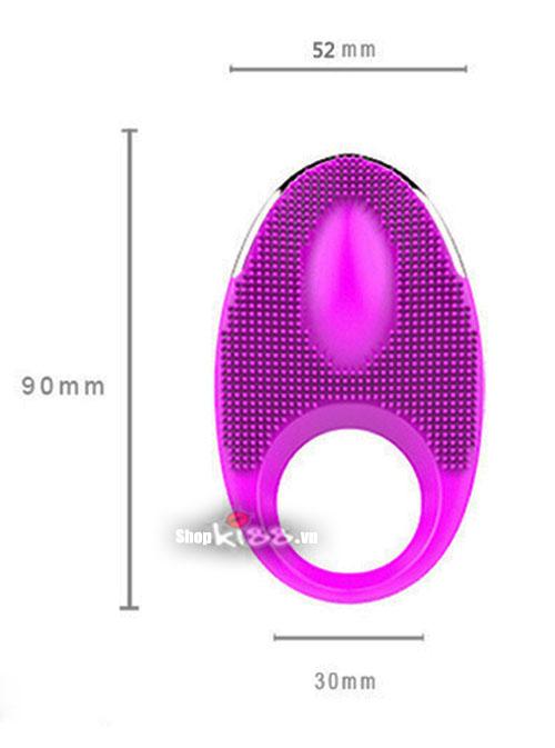 Vòng massage chống xuất tinh kích thích âm đạo Jamie DC71T kích thước