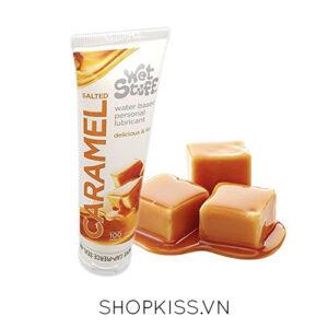 gel bôi trơn caramel salted vị mặn nếm được dùng cho quan hệ bằng miệng G01 mua ở đâu uy tín