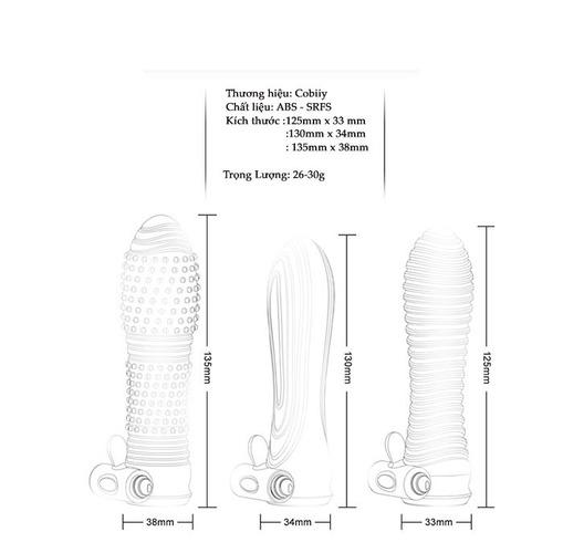 BCS dên 3cm tự nhiên giống dương vật BD40 kích thước sản phẩm