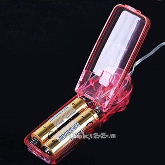 Sâu rung siêu gai mềm mát xa kích thích điểm G MS17B thay pin vô cùng tiện lợi