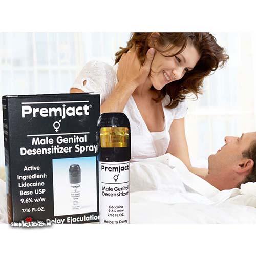 Thuốc xịt chống xuất tinh sớm Premjact XTS07 cải thiện đời sống tình dục