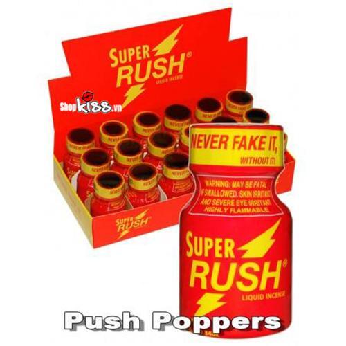 Popper super rush đỏ 10ml PP01 giúp tăng hưng phấn