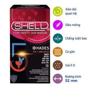 BCS Shell thuộc top 3 hãng bao cao su được ưa chuộng nhất