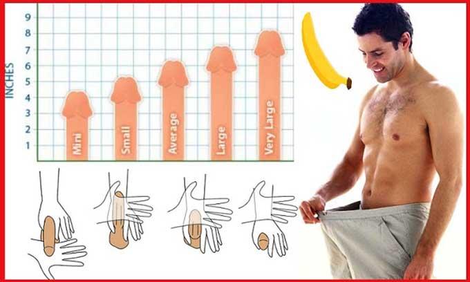 Cách tăng kích thước dương vật bằng tay