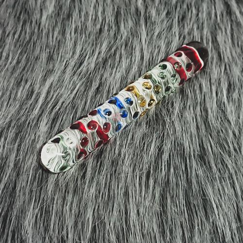 Dương vật pha lê bi nổi 4 màu DV52X mua tại Shopkiss.