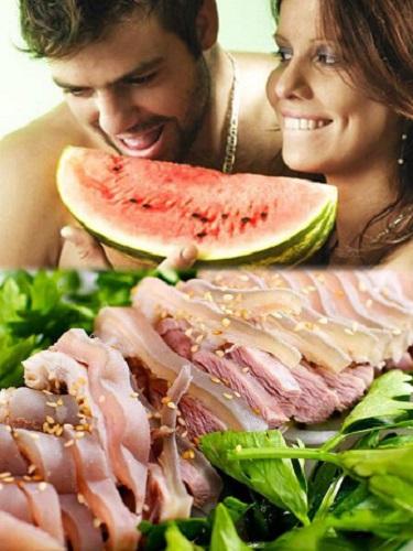 Yếu sinh lý nam thì nên ăn dưa hấu và thịt dê sẽ cải thiện sinh lý rất tốt