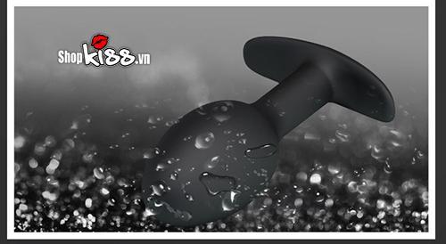 Bóng silicon ruột bi kích thích hậu môn HM02E chống thấm nước