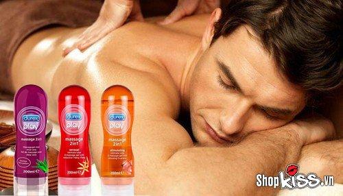 cách sử dụng gel bôi trơn để massage cơ thể