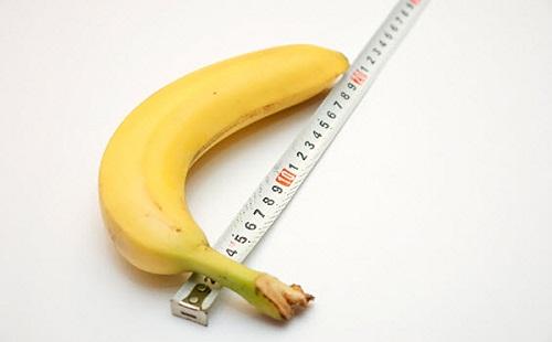 Dương vật có chiều dài trung bình là 11 - 15cm