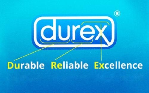 Durex là thương hiệu bao cao su nổi tiếng toàn cầu