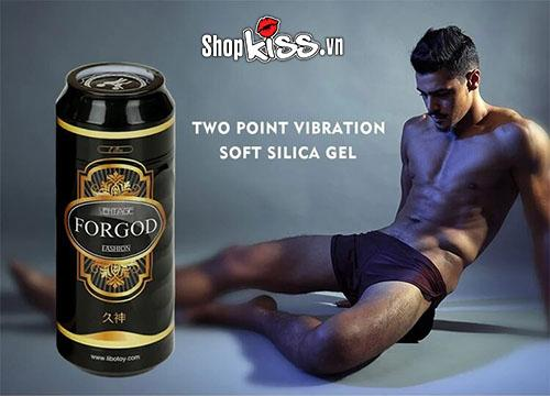 cốc thủ dâm ngụy trang lon bia có rung ForGod ad41a giá rẻ tại tphcm