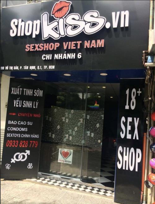 Chuỗi cửa hàng hệ thống Shopkiss trên toàn quốc