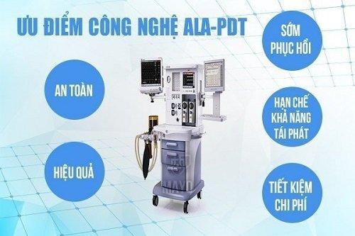 Phương pháp điều trị ALA - PDT gai sinh học là gì?