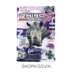 cường dương nam RHINO 69 R9000 tăng cường sinh lý phái mạnh kéo dài thời gian quan hệ trên 30 phút