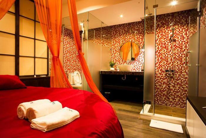 căn phòng lãng mạn dành cho massage yoni tuyệt vời cho cặp đôi