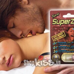 thảo dược cường dương kéo dài thời gian SuperZone (R1) tăng cường sinh lý nam giới hiệu quả
