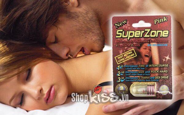 thảo dược cường dương kéo dài thời gian SuperZone R1 tăng cường sinh lý nam giới hiệu quả