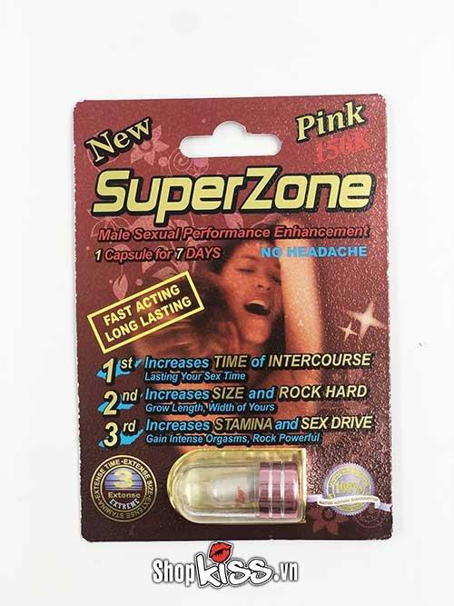 cường dương kéo dài thời gian SuperZone R1 chữa xuất tinh sớm