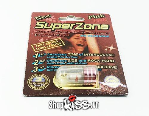 Cường dương kéo dài thời gian SuperZone R1 thuốc viên tăng cường sinh lý nam giới hiệu quả nhất hiện nay