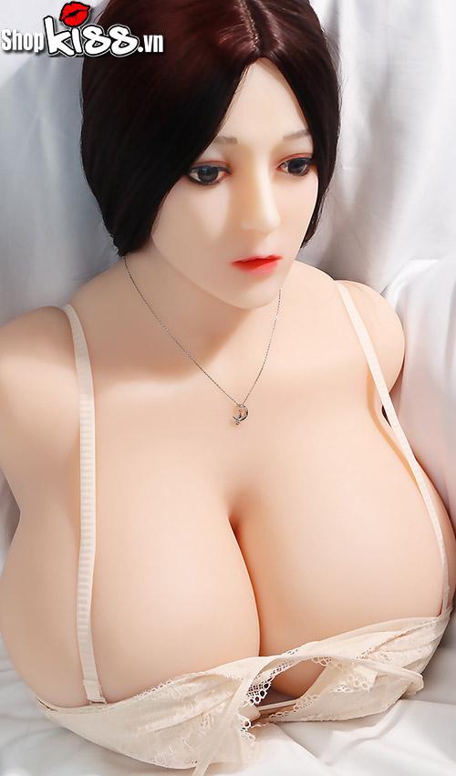 búp bê tình dục cao cấp nửa thân trên búp bê tình dục bán thân có mặt vú to (AD38N)