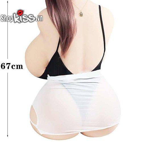 Búp bê tình dục bán thân silicone không chi BB12V giá rẻ mua ở đâu