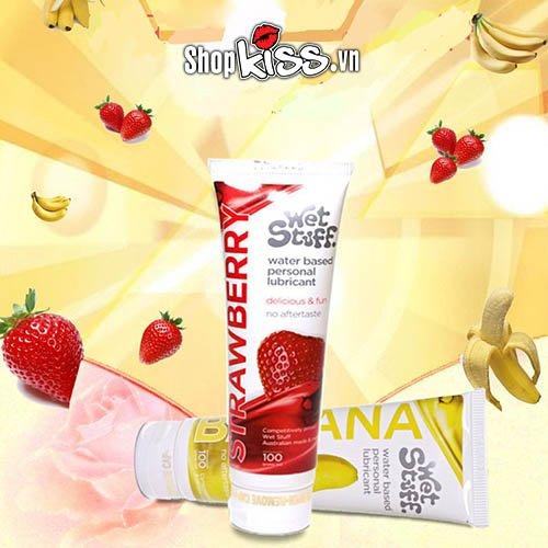 Gel bôi trơn hương dâu Wet Stuff Strawberry (G01N) giá rẻ tại hà nội