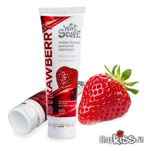 Gel bôi trơn hương dâu Wet Stuff Strawberry (G01N) giá rẻ tại tphcm