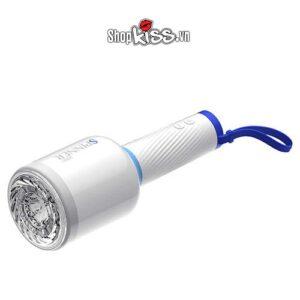 âm đạo giả đèn pin cốc thủ dâm nam tự động leten spinner ad33e