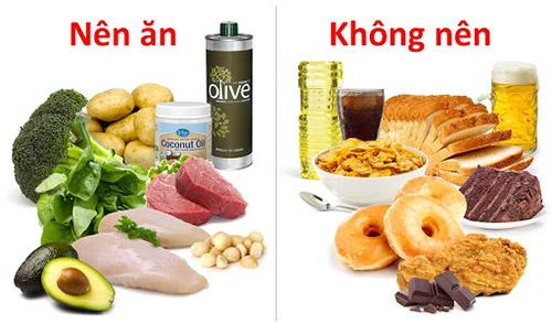 chế độ ăn giảm cân cần kiêng gì và nên ăn gì