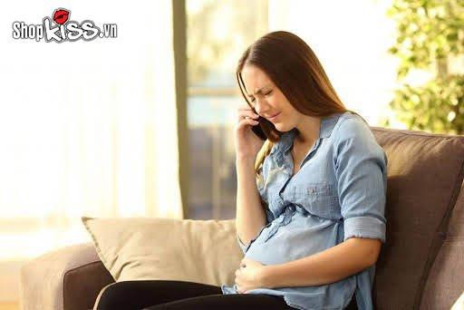Không có dấu hiệu mang thai ở bà bầu