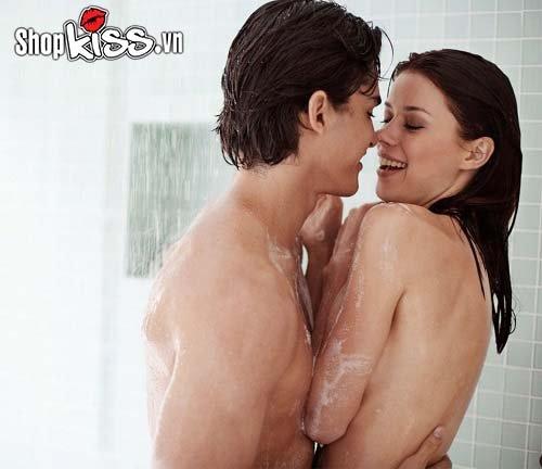 Các tư thế quan hệ trong nhà tắm nhiều khoái cảm