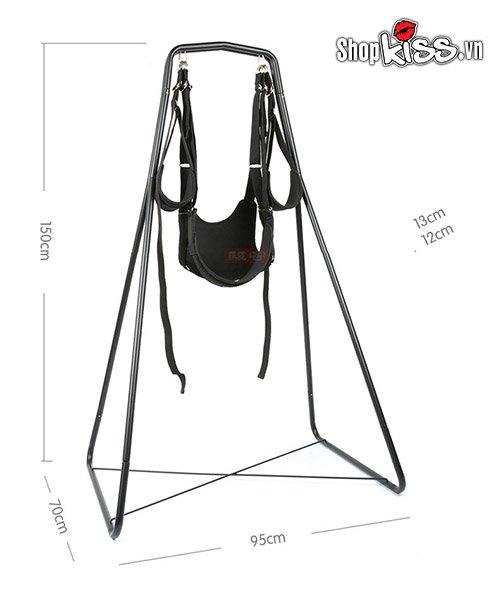 cách sử dụng bộ ghế treo xích đu tình yêu acacia BZ81