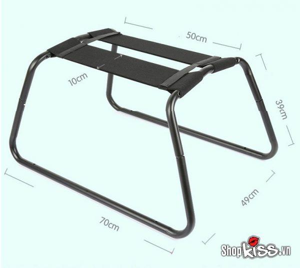 kích thước ghế bướm - bộ ghế treo xích đu tình yêu acacia BZ81