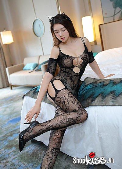 Thời trang bodysuit sexy Babydoll TT19 tạo tư thế gợi thình quyến rũ