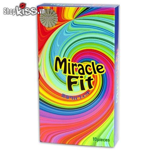 Bao cao su size nhỏ Sagami Miracle Fit MI10 tại tphcm