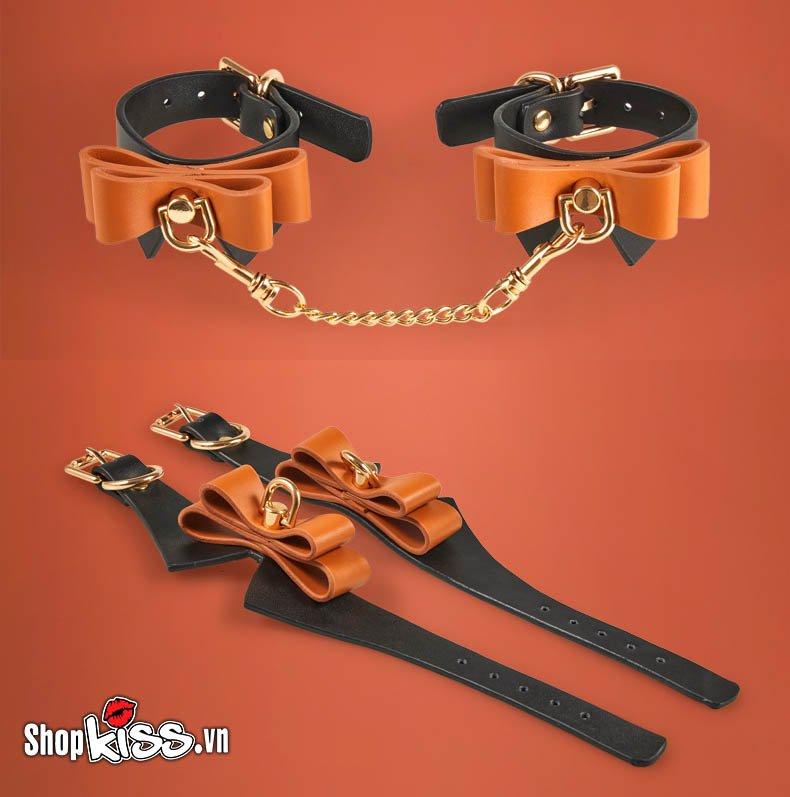 Bộ đồ chơi bạo dâm nô lệ tình dục bằng da Runyu QT47 giá bao nhiêu