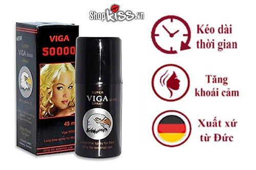 Chai xịt kéo dài quan hệ lâu Viga 50000 CX56 mua ở đâu