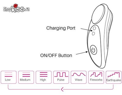 Cách sử dụng máy rung quần lót từ tính Lovense Ferri FERRI1