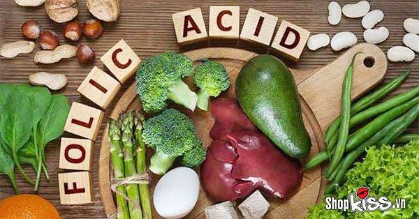 Tinh trùng yếu nên ăn gì để dễ thụ thai? Thực phẩm chứa axit folic