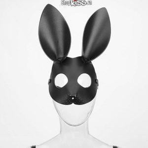 Bộ đồ chơi bạo dâm bằng da cao cấp QT49 mặt nạ thỏ