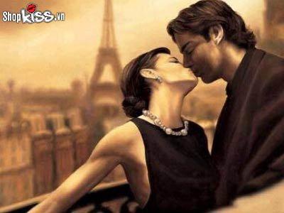 Cách hôn kiểu Pháp nhiều khoái cảm và đê mê